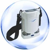 Concentrator de Oxigen Portabil, setari 1-5, Utilizare la Priza+Acumulator Litium, Garantie 3 ani